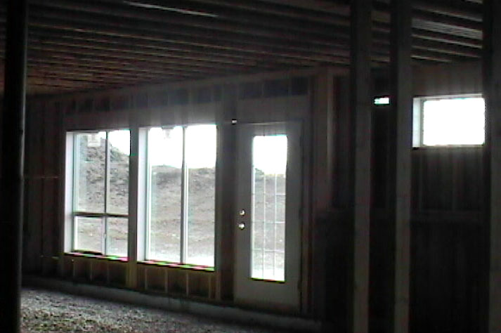 Then You Can See The Windows In The Lower Walk Out Level. The Windows Are  Large, So They Let In A Tremendous Amount Of Light, So Thatu0027s All Good,  Right?