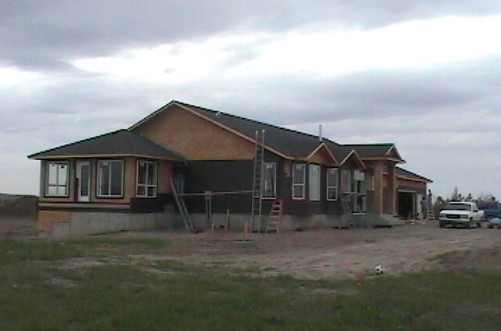 Exterior house finish for Build your own house california