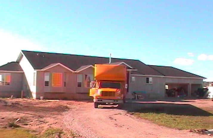 Movinghouse for Build your own house california